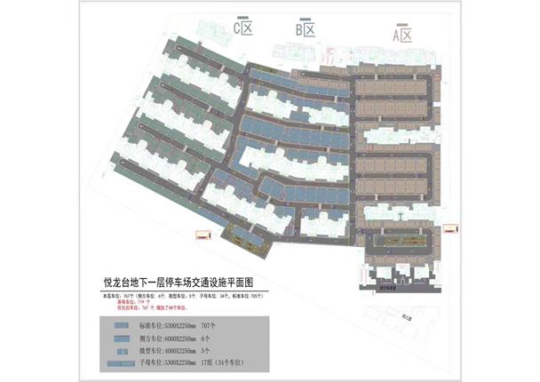 停车场交通设施设计方案