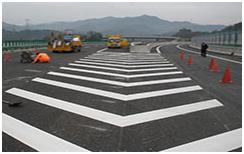 道路交通划线工程施工