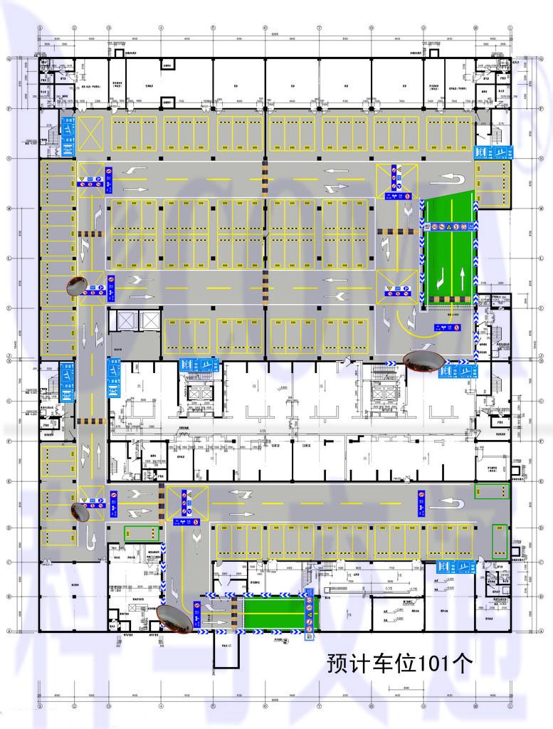地下停车场车位优化CAD设计图.JPG