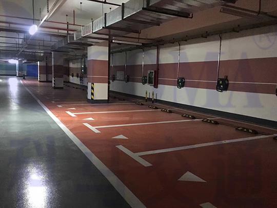 停车位规划设计(配合工程验收)